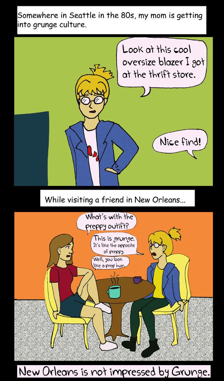 Grunge in New Orleans