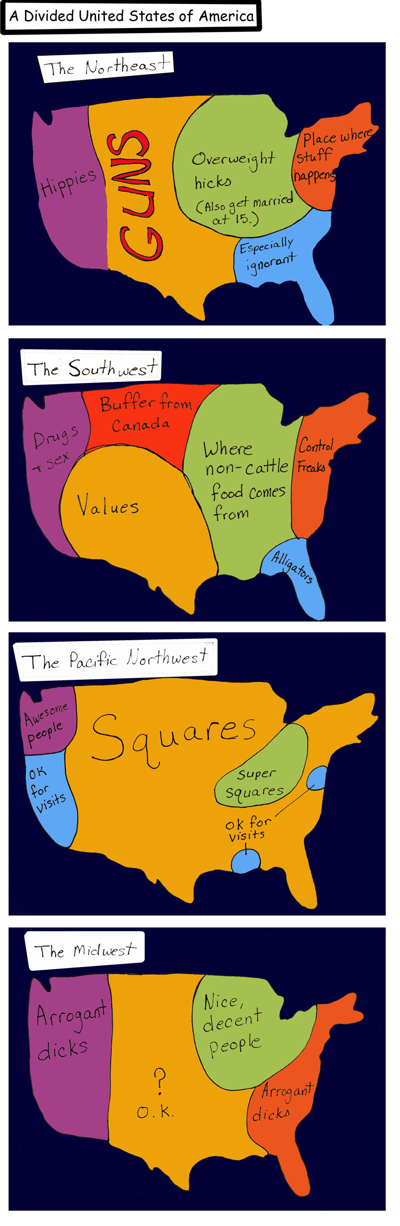 Divided USA