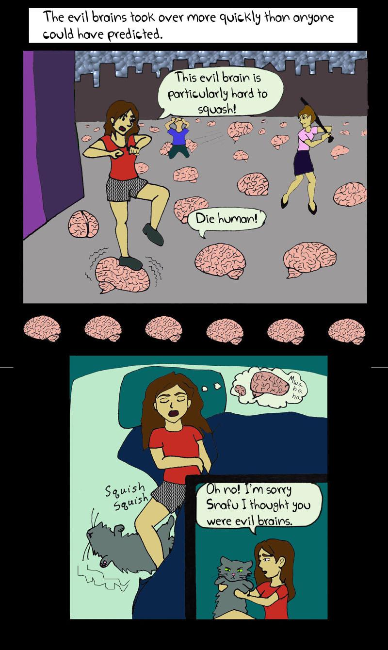 Evil Brains